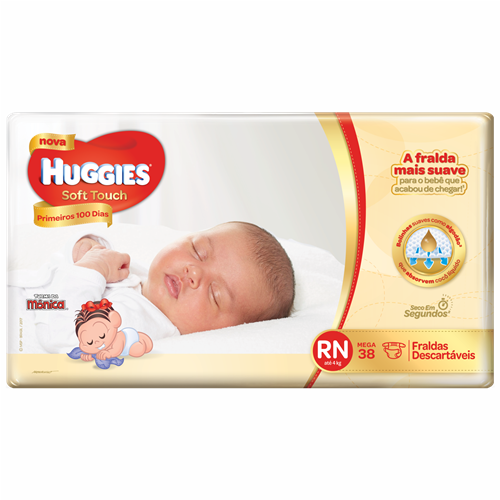 FRA HUGGIES SOFT TOUCH MEGA RN C/38