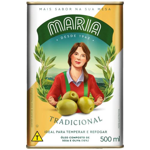 OLEO COMPOSTO MARIA TRAD LT 500ML