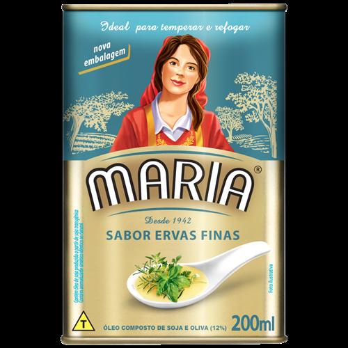 OLEO COMPOSTO MARIA ERVAS FINAS LT 200ML