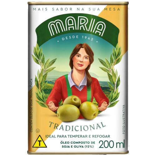OLEO COMPOSTO MARIA TRAD LT 200ML