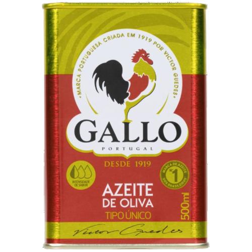 AZEITE GALLO TIPO UNICO LATA 500ML