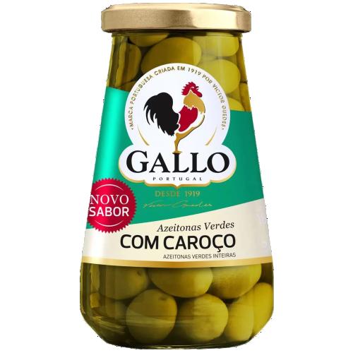 AZEITONA GALLO VERDE COM CAROÇO 183G