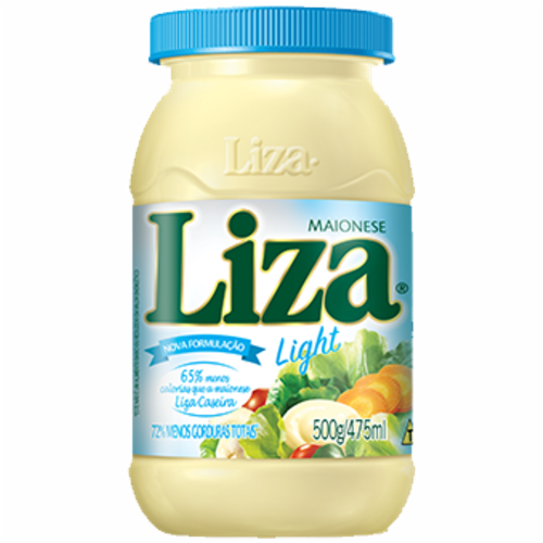 MAIONESE LIZA LIGHT 500GR