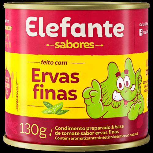 EXTRATO ELEFANTE SAB ERVAS FINA LT 130G