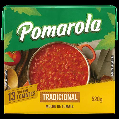 MOLHO POMAROLA TRAD TETRA 520G