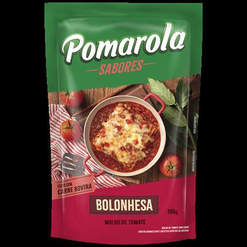 MOLHO POMAROLA BOLONHESA SACHE 300G