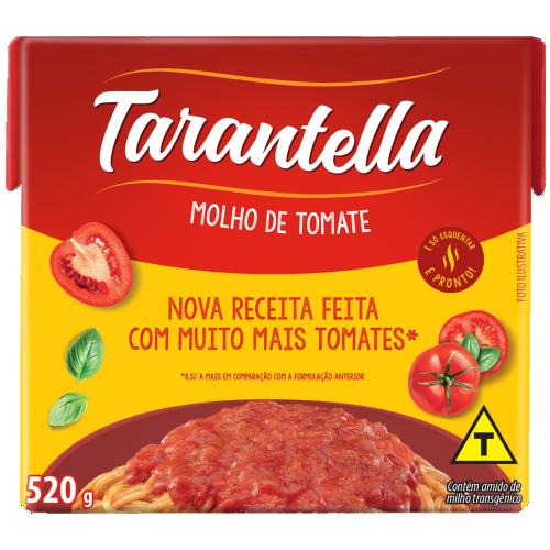 MOLHO TARANTELLA TRAD TETRA 520G