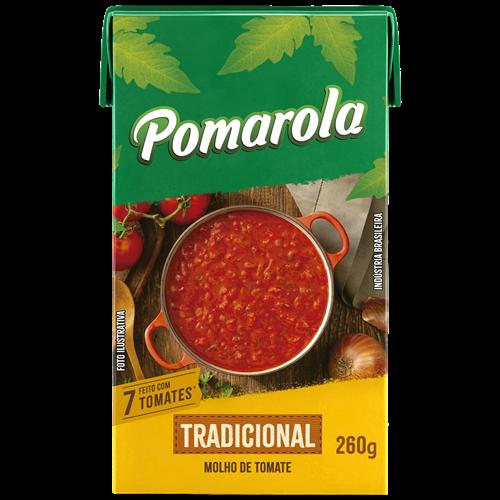 MOLHO POMAROLA TRAD TETRA 260G