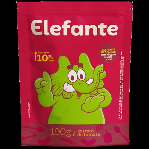 EXTRATO ELEFANTE SACHE 190G