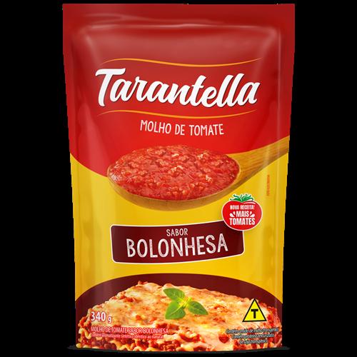 MOLHO TARANTELLA BOLONHE SACHE 340G