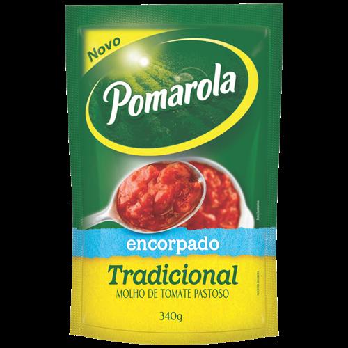 MOLHO POMAROLA ENCORPADO 340G