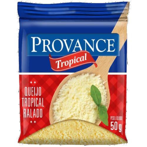 QUEIJO PARMESÃO RALADO TROPICAL 30X50G