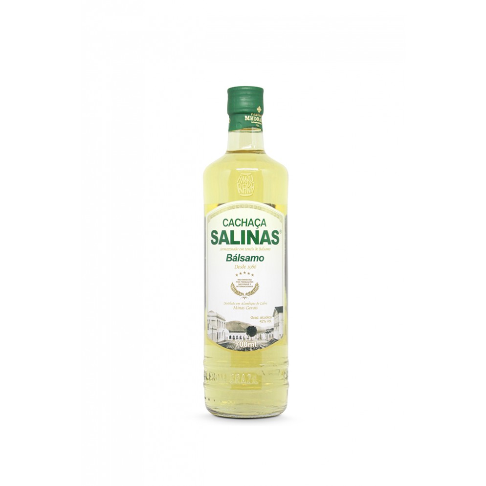 CACHACA SALINAS BALSAMO 350ML