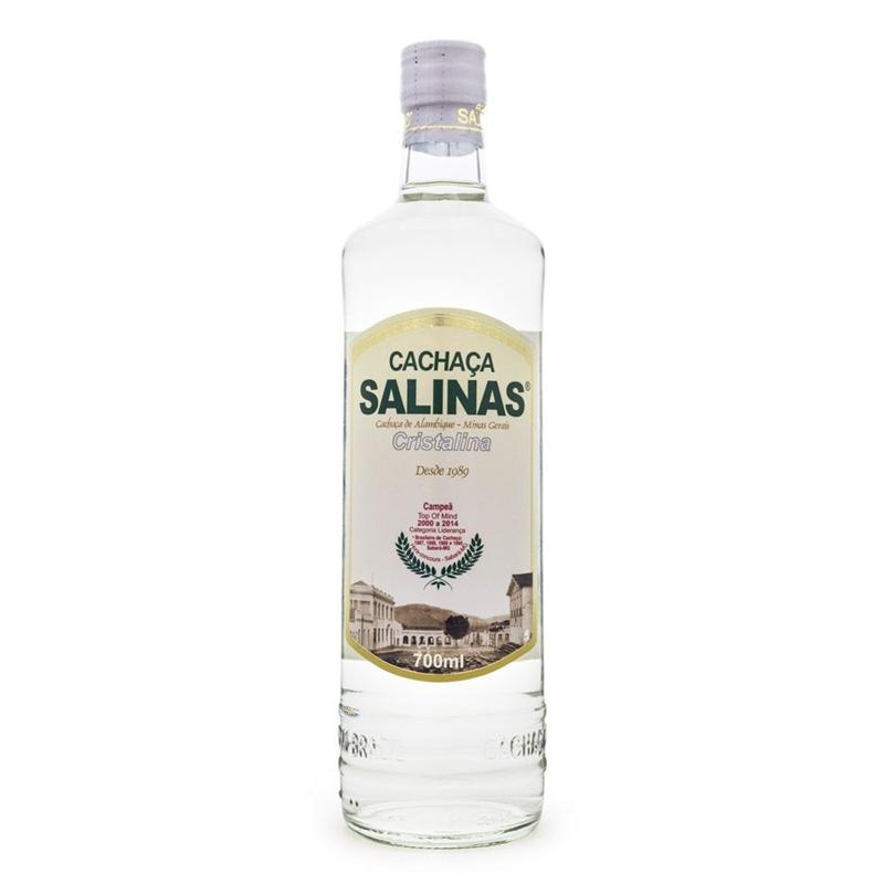 CACHACA SALINAS CRISTALINA 700ML