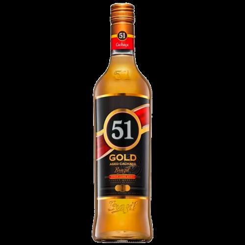 CACHACA ENV 51 GOLD TIPO EXP 700ML