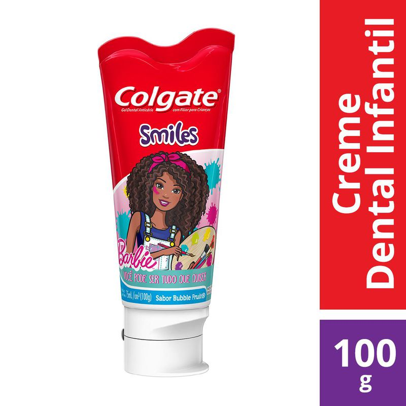 CR DENTAL COLGATE JR BARBIE 100G