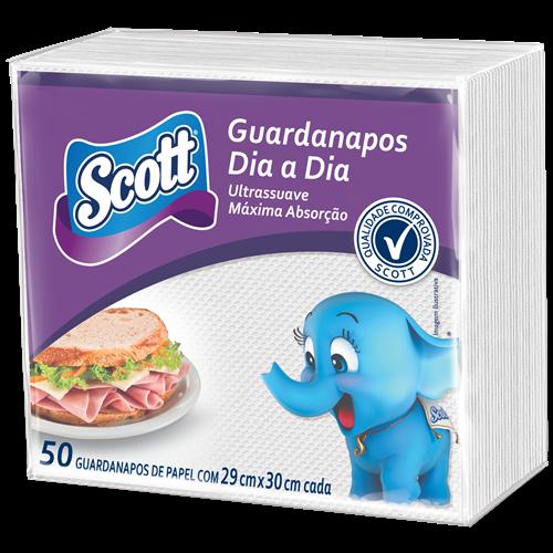 GUARDANAPO SCOTT DIA A DIA FAMILIA C/50