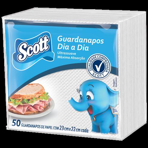 GUARDANAPO SCOTT DIA A DIA COQUETEL C/50