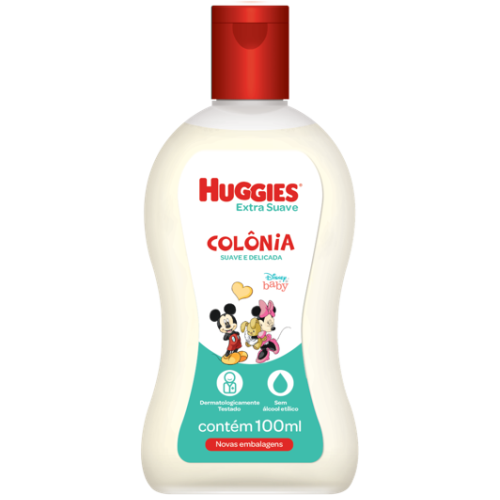 COLONIA T.MONICA HUGGIES EXT SUAVE 100ML