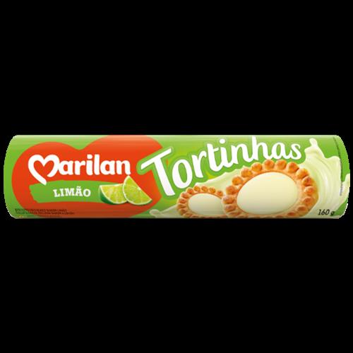 BISC MARILAN TORTINHA LIMAO 160G