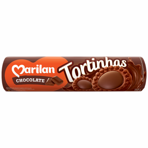 BISC MARILAN TORTINHA CHOCOLATE 160G