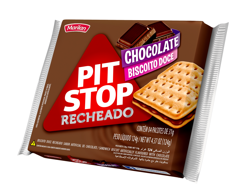 BISC MARILAN PIT STOP RECH CHOCOLAT 124G