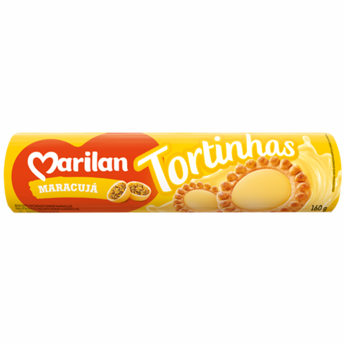 BISC MARILAN TORTINHA MARACUJA 160G