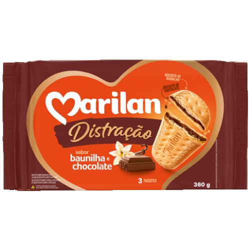 BISC MARILAN DISTRAC CHOCOLATE 360G