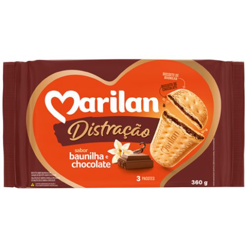 BISC MARILAN DISTRAC CHOCOLATE 360G