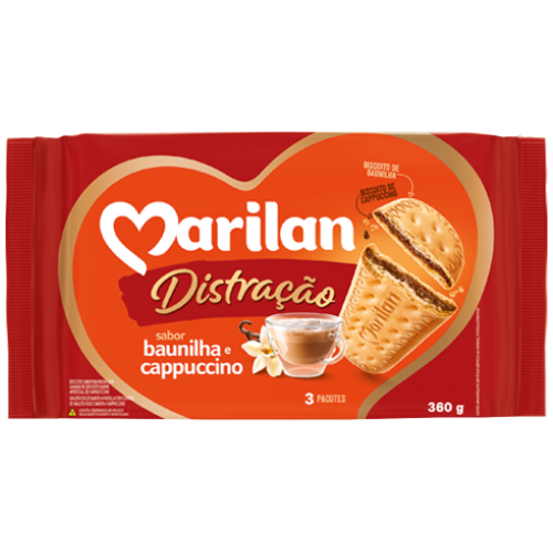 BISC MARILAN DISTRAC CAPPUCCINO 360G