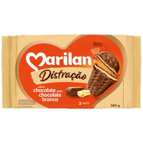 BISC MARILAN DISTRAC CHOCOLATE BCO 360G