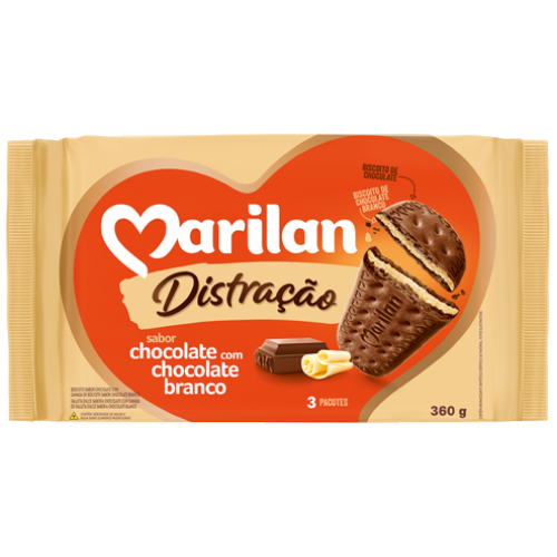 BISC MARILAN DISTRAC CHOCOLATE BCO 360G