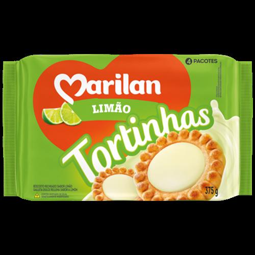 BISC MARILAN TORTINHA LIMAO 375G