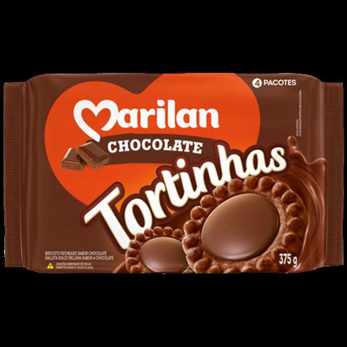 BISC MARILAN TORTINHA CHOCOLATE 375G