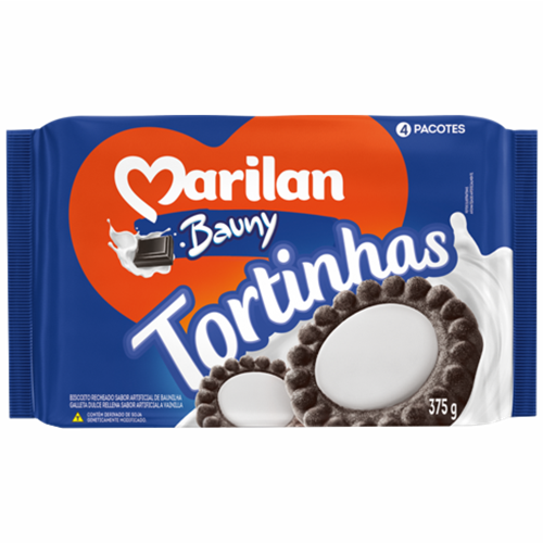 BISC MARILAN TORTINHA BAUNY 375G