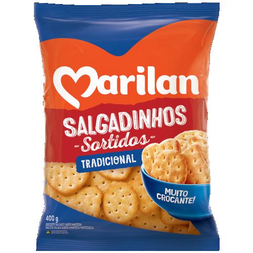 SALGADINHOS MARILAN SORTIDOS 400G