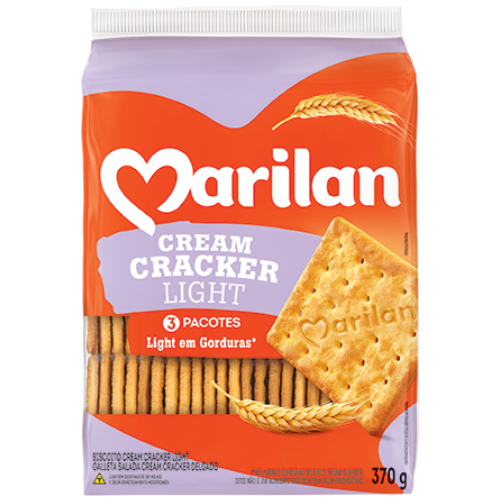BISC MARILAN CREAM CRACKER LIGHT 370G