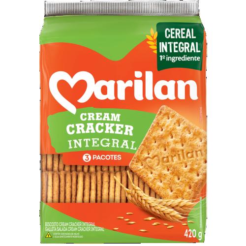 BISC MARILAN CREAM CRACKER INTEGRAL 420G