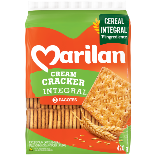 BISC MARILAN CREAM CRACKER INTEGRAL 420G