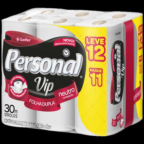PAPEL HIG PERSONAL FD 12X30M VIP L12P11