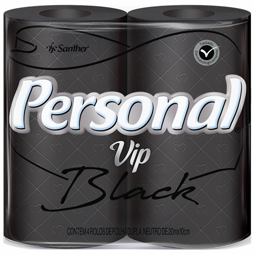 PAPEL HIG PERSONAL FD  4X20M VIP BLACK