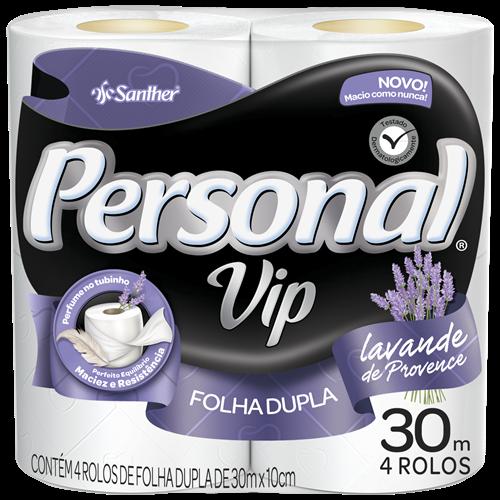 PAPEL HIG PERSONAL FD  4X30M VIP PERFUMADO