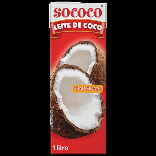 LEITE DE COCO SOCOCO TP 1LT