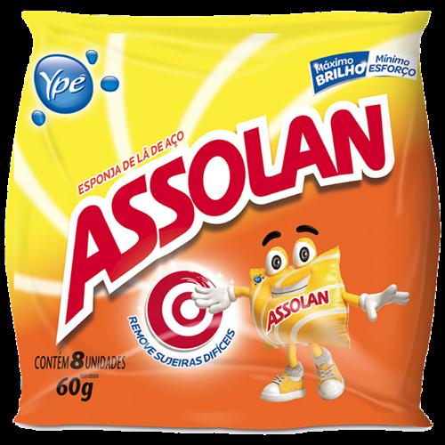 LA DE ACO ASSOLAN ORIG FILME FLEX 14X8UN