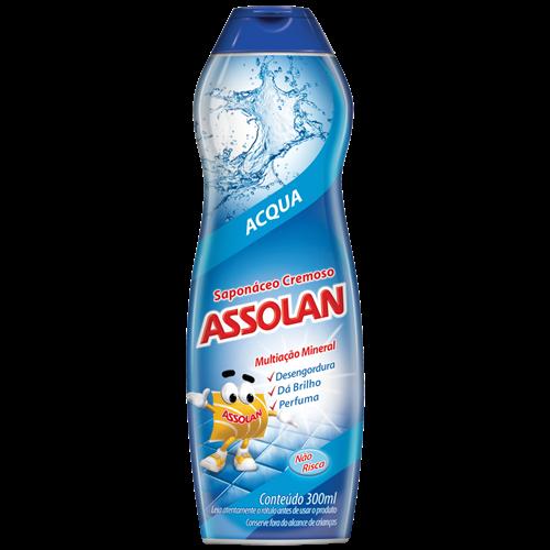 SAPONACEO CREMOSO ASSOLAN ACQUA 300ML