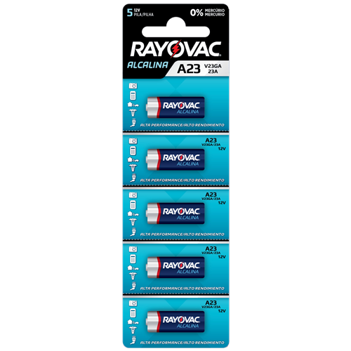 MULTIBLISTER RAYOVAC ELET 12V V23GA CT/5