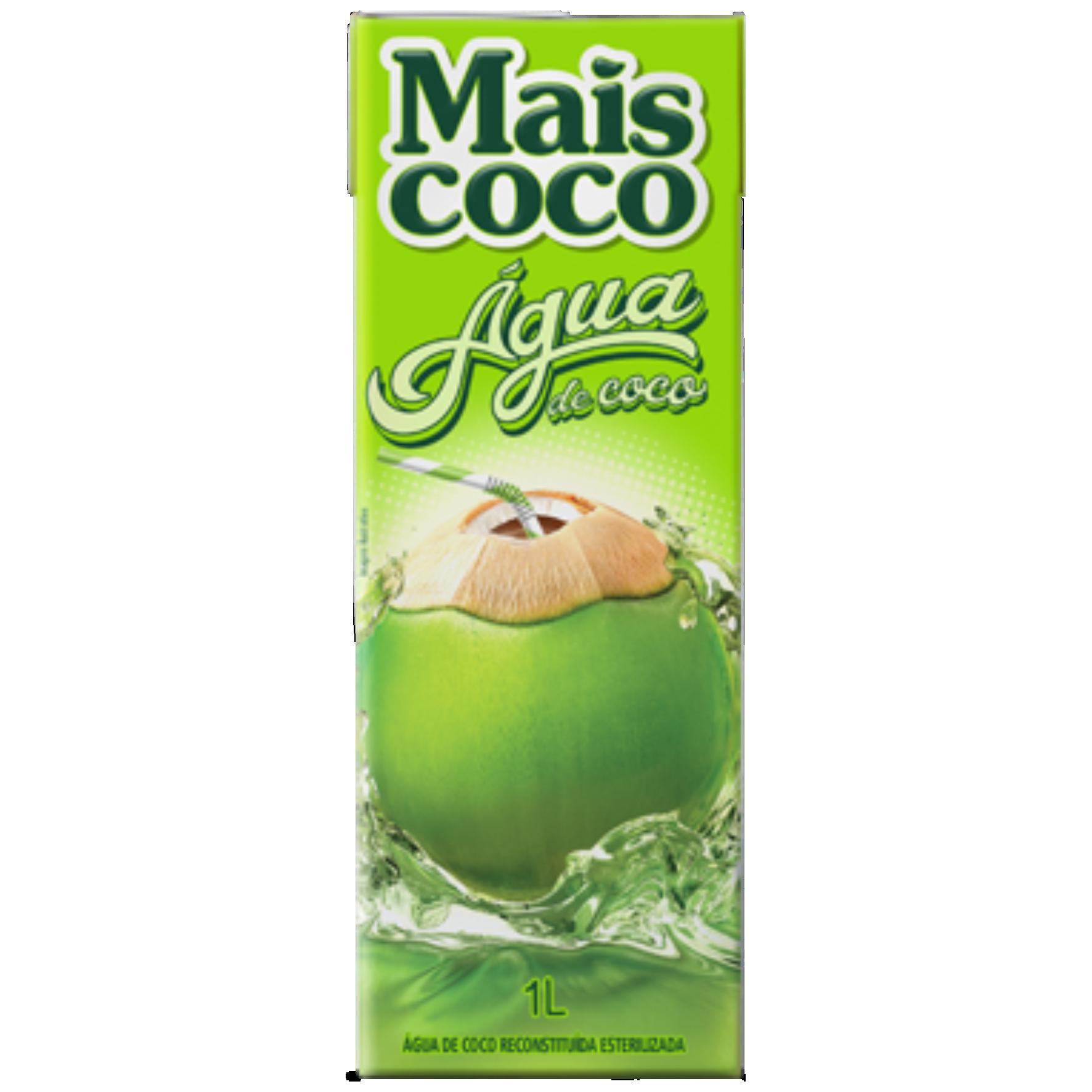 AGUA DE COCO MAIS COCO 1LT