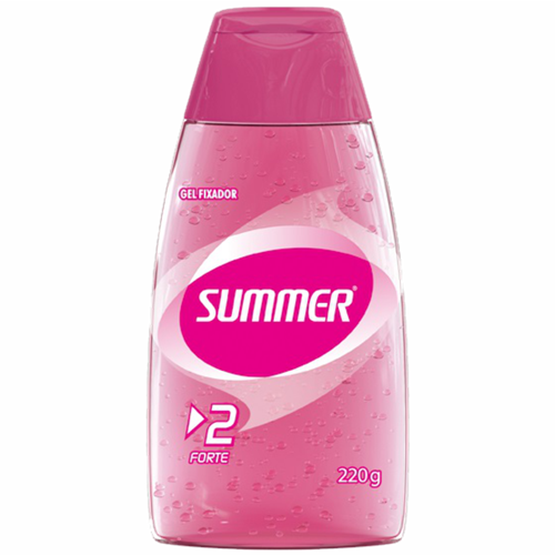 GEL SUMMER CAPILAR FIX FORTE 220G