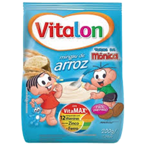 MINGAU VITALON ARROZ SACHET 200G