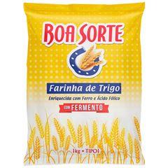FARINHA TRIGO BOA SORTE C/FERM 1K